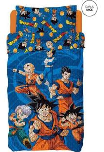 Colcha Dupla Face Infantil Dragon Ball Lepper