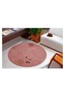 Tapete Para Sala E Quarto Classic Redondo Nude 1,00 1 Peça - Oásis
