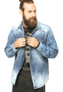 Camisa Forum Jeans Azul