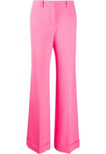Ps Paul Smith Calça Flare De Alfaiataria - Rosa