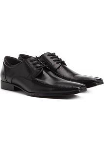 Sapato Social Couro Shoestock Amarração Masculino - Masculino