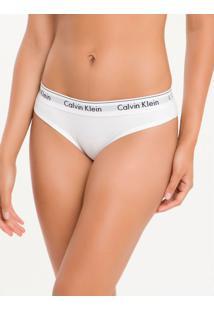 Calcinha Tanga Modern Cotton - Branco - G