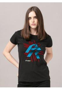 Camiseta Bandup! The Crew 2 Proracing - Feminino-Preto