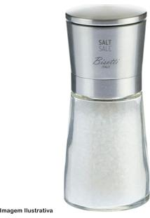 Moedor De Sal Bisetti Gli Speziale Vidro Aço Escovado - 29999