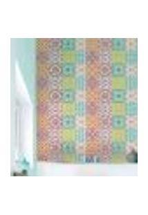Papel De Parede Autocolante Rolo 0,58 X 5M - Azulejo Abstrato 888300