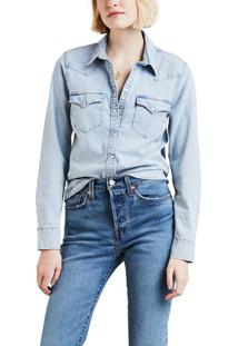 Camisa Jeans Levis Ultimate Western - S