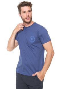 Camiseta Yacht Master Logo Azul-Marinho
