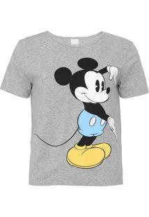 Blusa Cativa Disney Mickey Cinza - Kanui