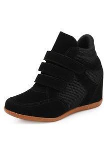 Tênis Sneaker Ana Lucia Al19-2021 Preto