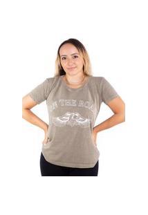 Camiseta Birdz Estampada Caqui