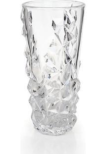 Vaso De Vidro Decorativo Diana 25 Cm Transparente Hauskraft