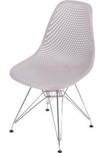 Cadeira Colmeia Com Base Em Metal Bálcãs – Fendi