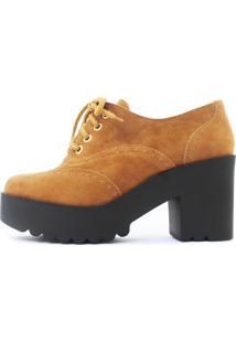 Oxford Damannu Shoes Camurça Caramelo