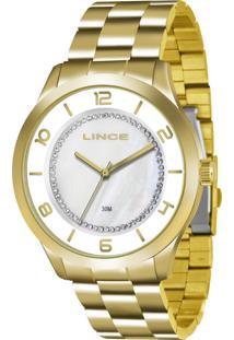 Relógio Feminino Strass Lince Lrg4346L B2Kx