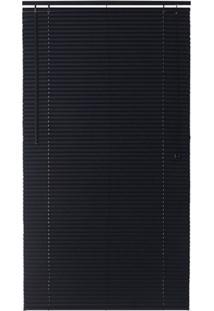 Persiana Horizontal Em Pvc Block 80X220Cm Preta