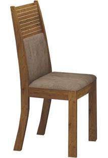 Cadeira Hawai 2 Peças - Animale Capuccino - Canela