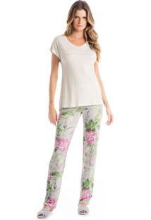 Pijama Agata C/ Calca Rosa/P