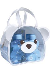 Kit Necessaire Puro Cuidado Urso Bebê Natureza
