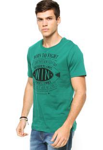 Camiseta Sommer Born Verde
