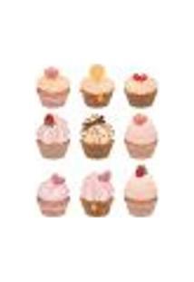 Adesivo Decorativo De Cozinha - Cupcakes - 203Cz-P