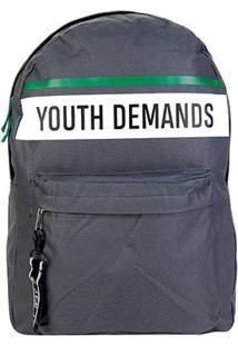 Mochila Clio Youth Demands - Masculino-Cinza