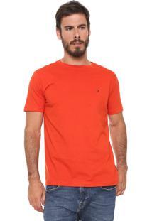 Camiseta Tommy Hilfiger May Laranja