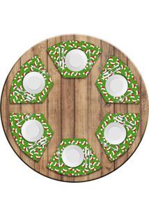 Jogo Americano Love Decor Para Mesa Redonda Wevans Multi Tocas Natal Kit Com 6 Pã§S - Multicolorido - Dafiti