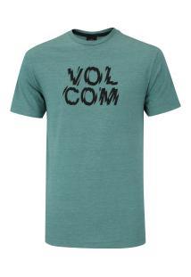 Camiseta Volcom Silk Shater - Masculina - Verde