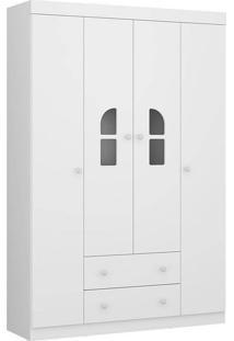 Guarda Roupa 2654 Bolinha De Sabão Plus – Multimóveis - Branco Premium
