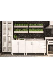 Cozinha Compacta Floripa #29 Com Gabinet