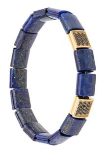 Nialaya Jewelry Pulseira Com Contas - Azul
