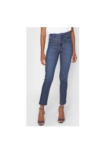 Calça Jeans Lez A Lez Slim Tulum Azul