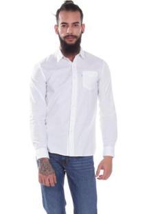 Camisa Levis Sunset One Pocket - Masculino-Branco