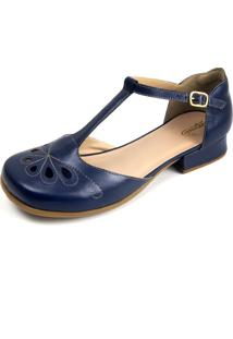 Sapato Miuzzi Índigo Ref: 3202 Azul Marinho