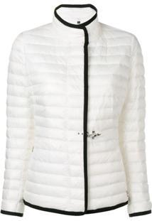Fay Zipped Padded Jacket - Branco
