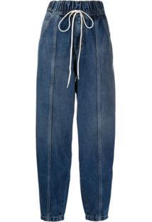 Givenchy Drawstring Waist Jeans - Azul