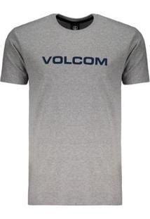 Camiseta Volcom Crisp Euro Masculina - Masculino