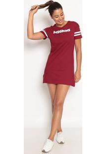 "Vestido ""Redskinsâ®""- Vinho & Branco- New Eranew Era"