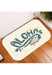 Tapete Decorativo Aloha From Hawai Único