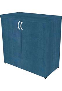 Armário De Escritório Natus 2 Pt Azul