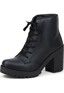 Bota Magi Shoes Tratorada Fosca Preta