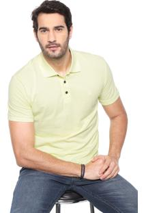 Camisa Polo John John Reta Basic Amarela