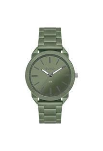 Relógio Euro Feminino Color Spray Verde Analógico Eu2035Ysp4V