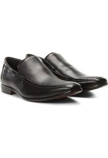 Sapato Social Couro Rafarillo Dubai - Masculino-Preto
