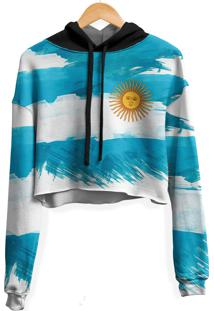 Blusa Cropped Moletom Feminina Over Fame Argentina