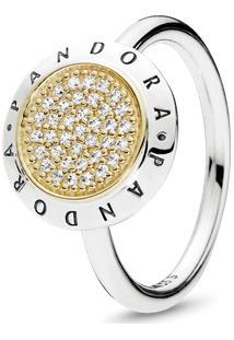 Anel Pandora Signature Com Ouro