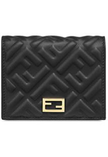 Fendi Carteira Mini - Preto