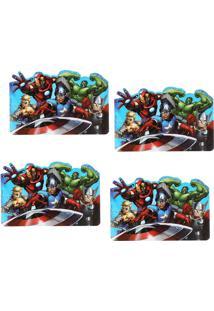 Jogo Americano Avengers 4 Unidades Simonaggio