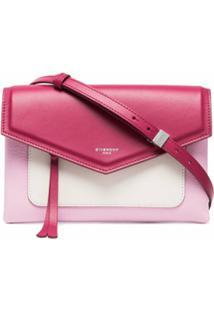 Givenchy Bolsa Transversal 'Duetto' De Couro - Rosa