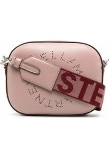 Stella Mccartney Pochete Com Logo - Rosa